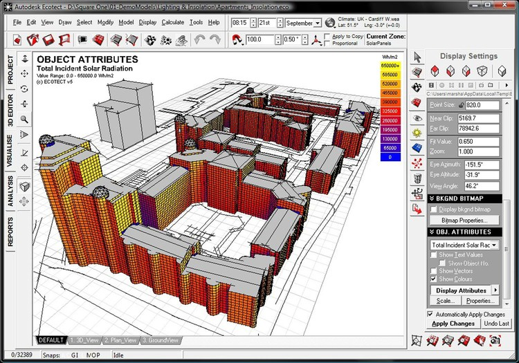 Ecotect software de dise o de construcci n sustentable for Diseno de muebles software