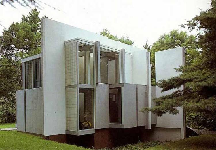 Cl sicos de arquitectura casa vi peter eisenman for Casa de los azulejos arquitectura