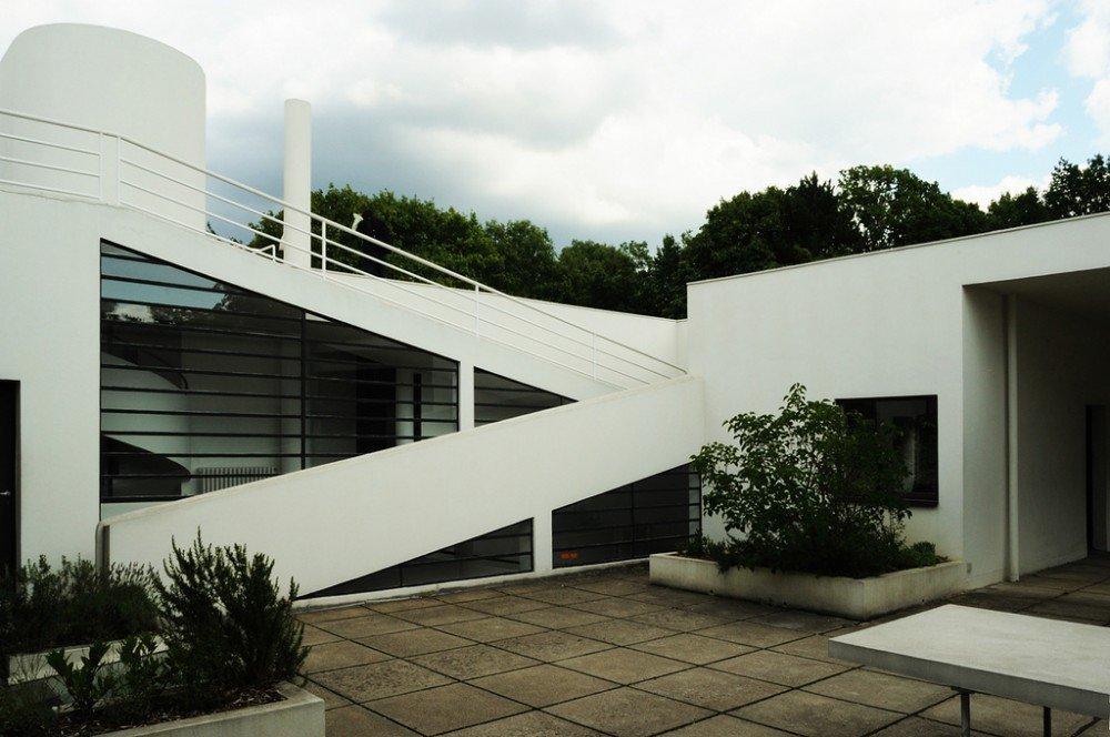 Galer a de cl sicos de arquitectura villa savoye le - Le corbusier tetto giardino ...