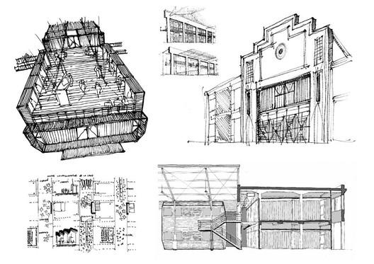 Nueva obra del edificio del ex Mercado de Pescado / Centro