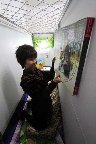 Departamentos c psula en china habitar en un espacio for Espacios minimos arquitectura