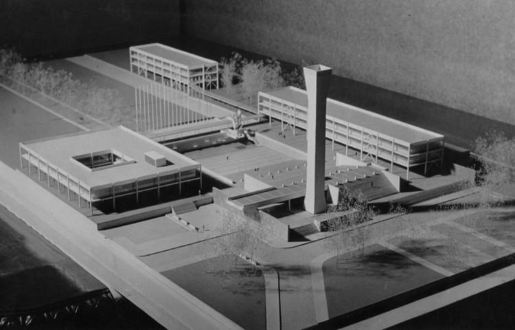 Desenlace del Instituto de Química de Emilio Duhart, en Concepción, Plan Director para la Universidad de Concepción