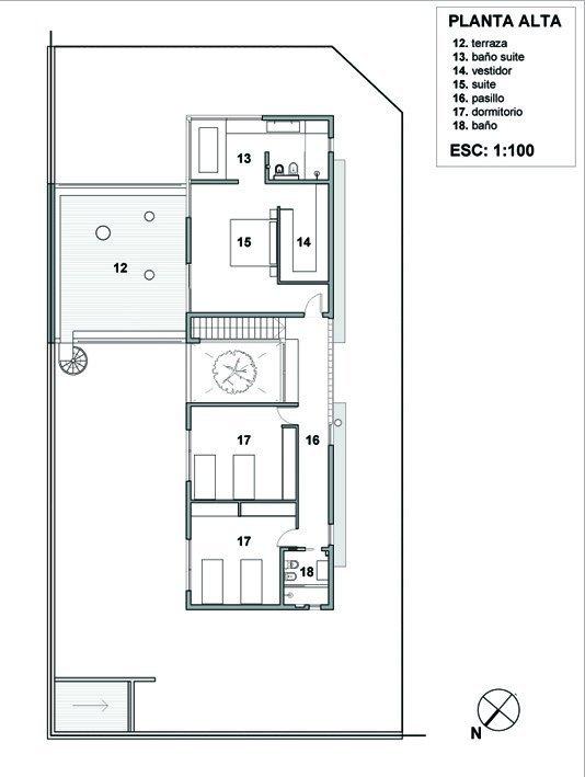 Galer a de casa rc estudio geya 19 - Planos de casas unifamiliares ...