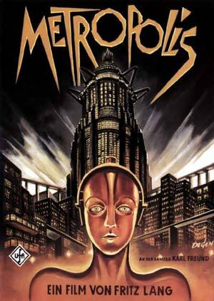 Afiche película Metrópolis