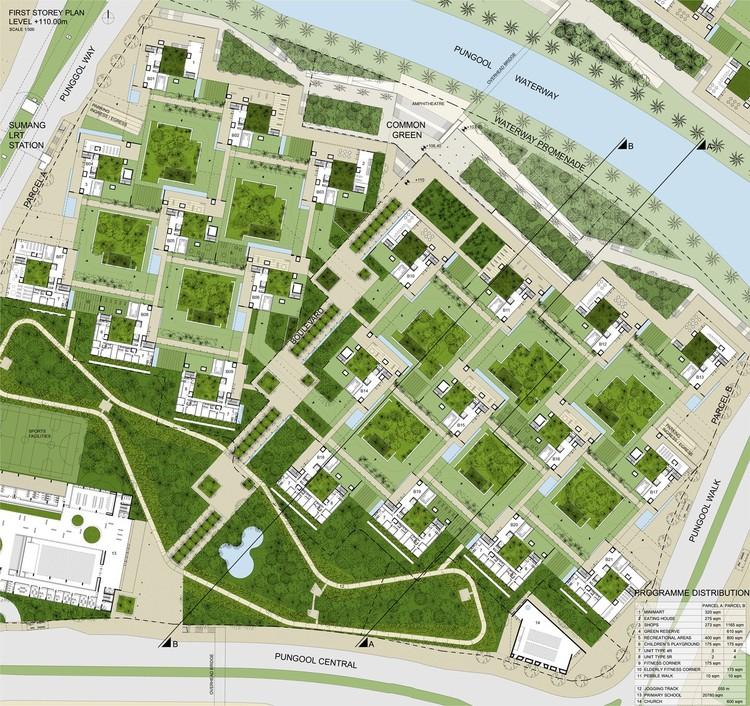 Concurso internacional primer conjunto de viviendas for Planos mobiliario escolar peru