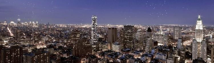56 Leonard Street: El rascacielos de Herzog & de Meuron en Nueva York