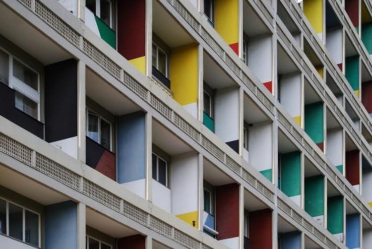 Plataforma en Viaje: Corbusierhaus, Unidad Habitacional de Berlín ...