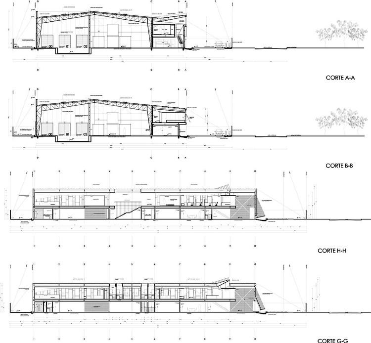En Construcción: Bodega Huanacu / Fam, Pinochet, Suárez Arquitectos