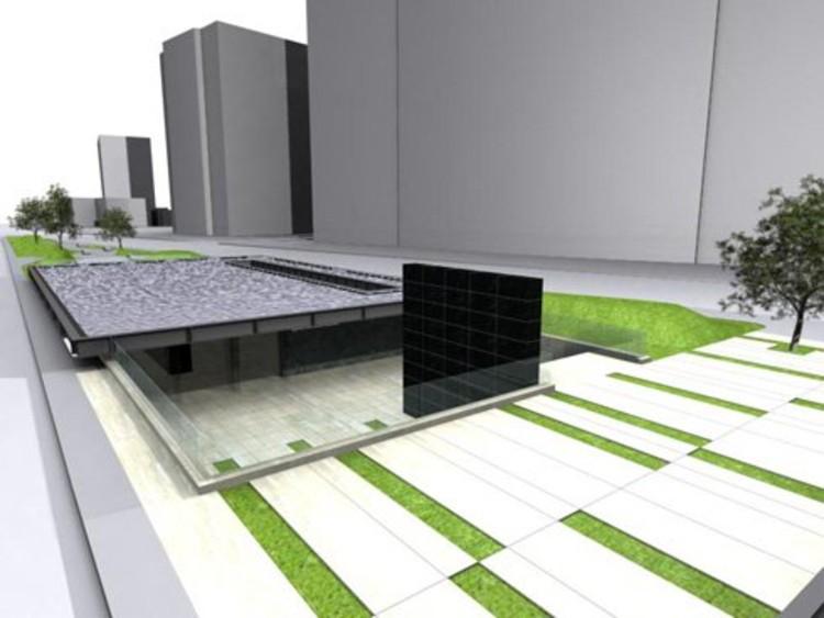 En construcci n memorial jaime guzm n nicol s lipthay - Que es un porche en arquitectura ...