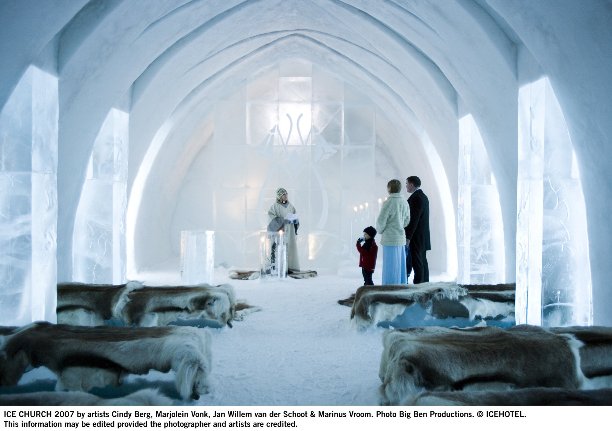 ICEHOTEL / Art & Design Group | ArchDaily