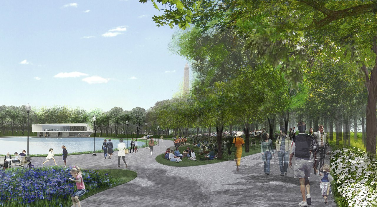 Gallery Of National Mall Winning Design Proposal For Constitution Gardens Rogers Marvel Architects Pwp Landscape Architecture 11