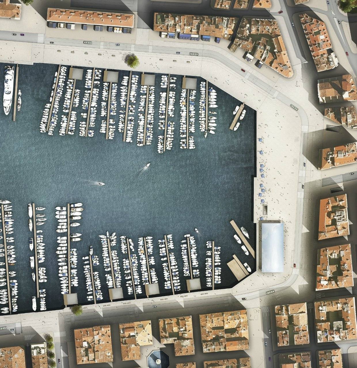 Best Image Masterplan for Marseille's Vieux Port / Foster + Partners