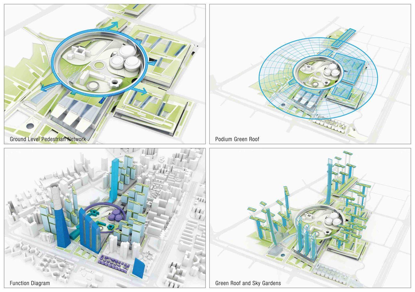 gallery of hanking nanyou newtown urban planning design proposal Urban Planner Kevin Lynch