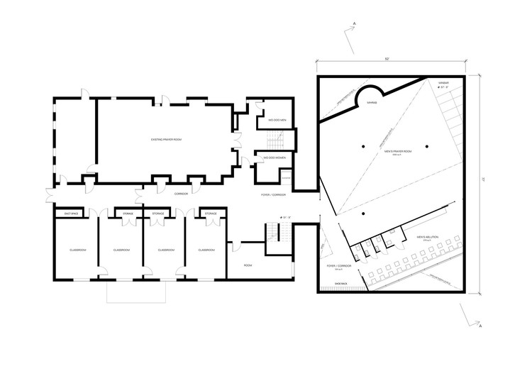 Cute first floor plan