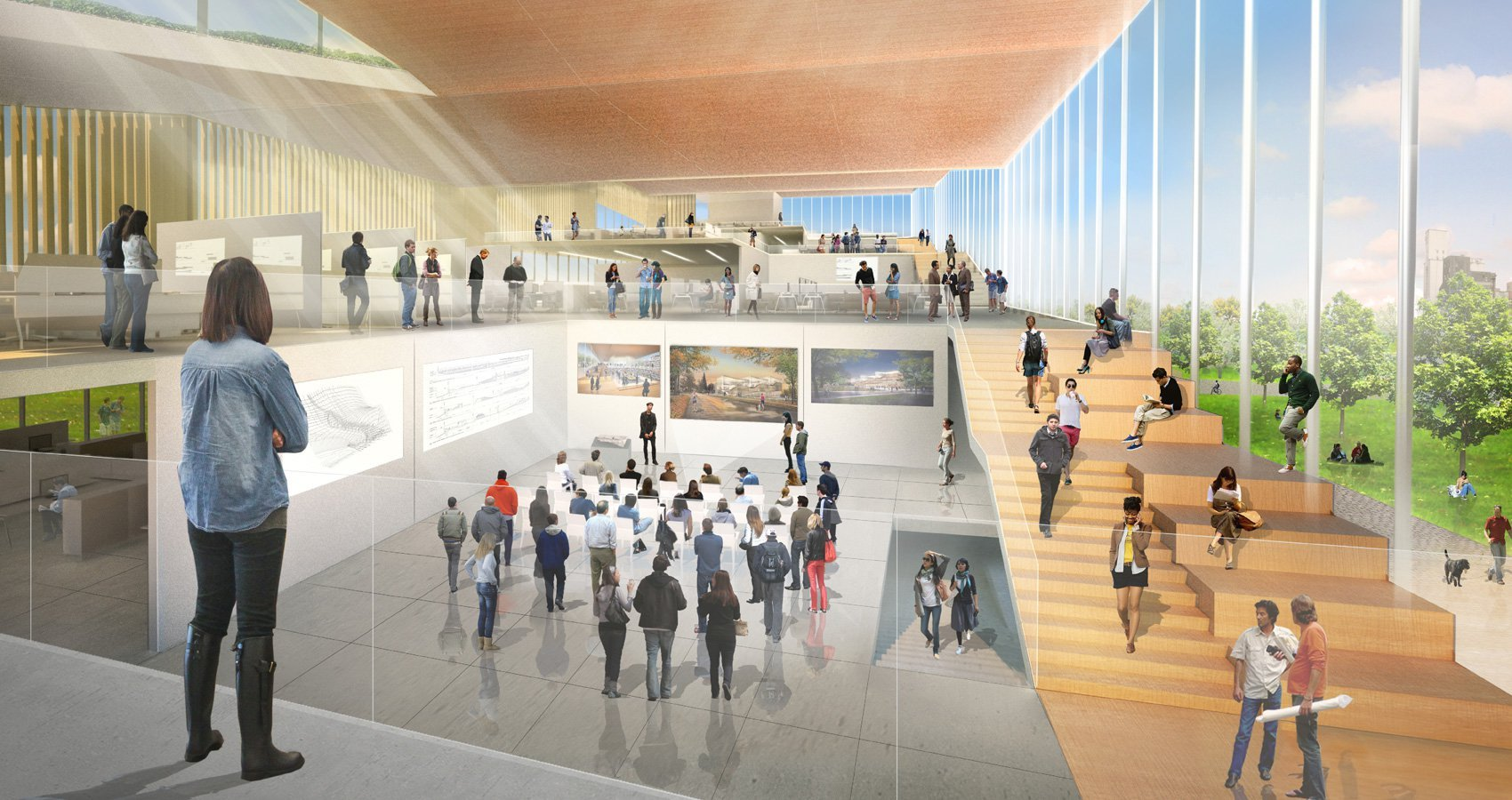 Gallery Of Weiss Manfredi To Design Kent State S New