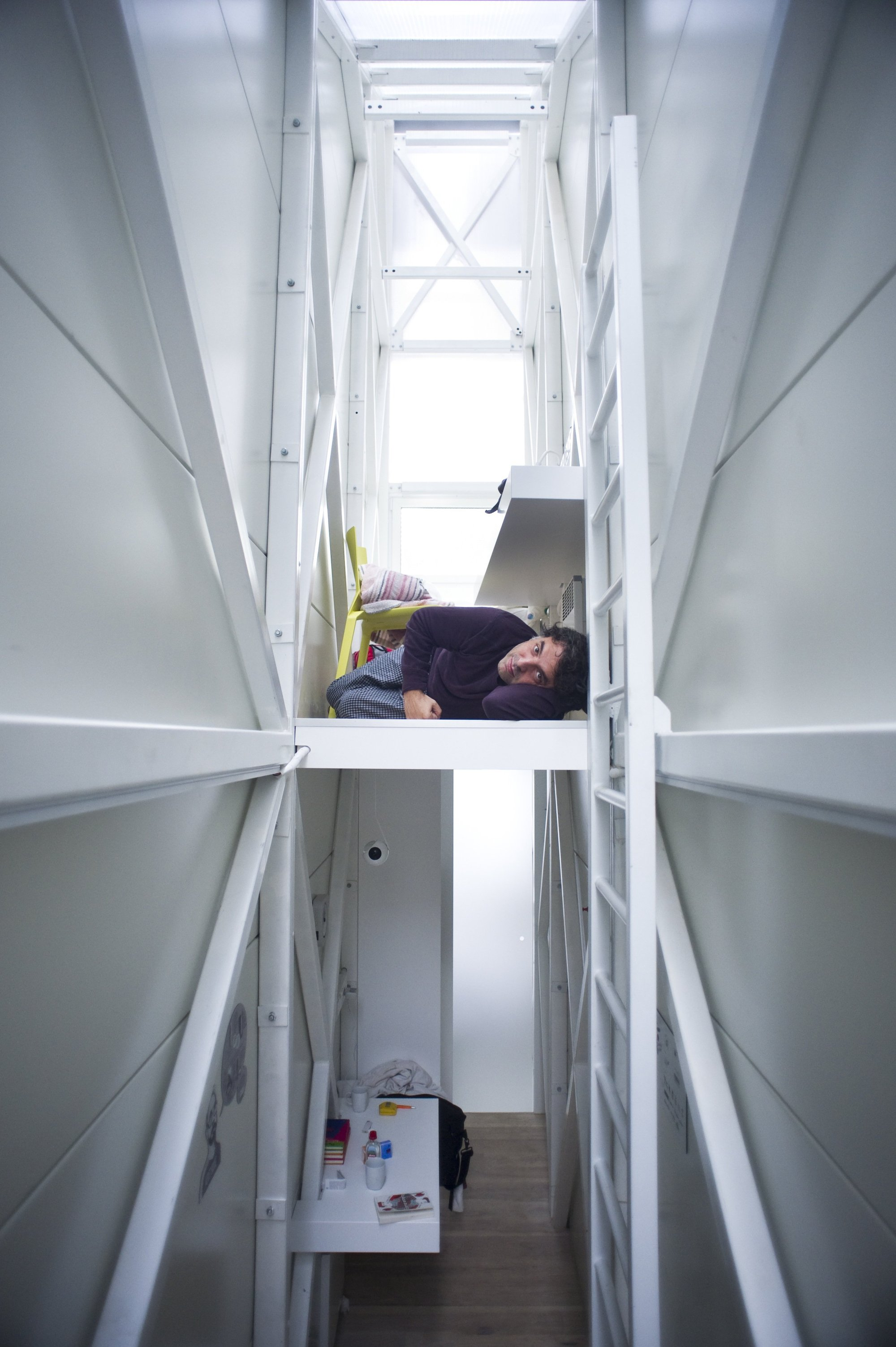 Gallery Of Inside The Keret House The World S Skinniest