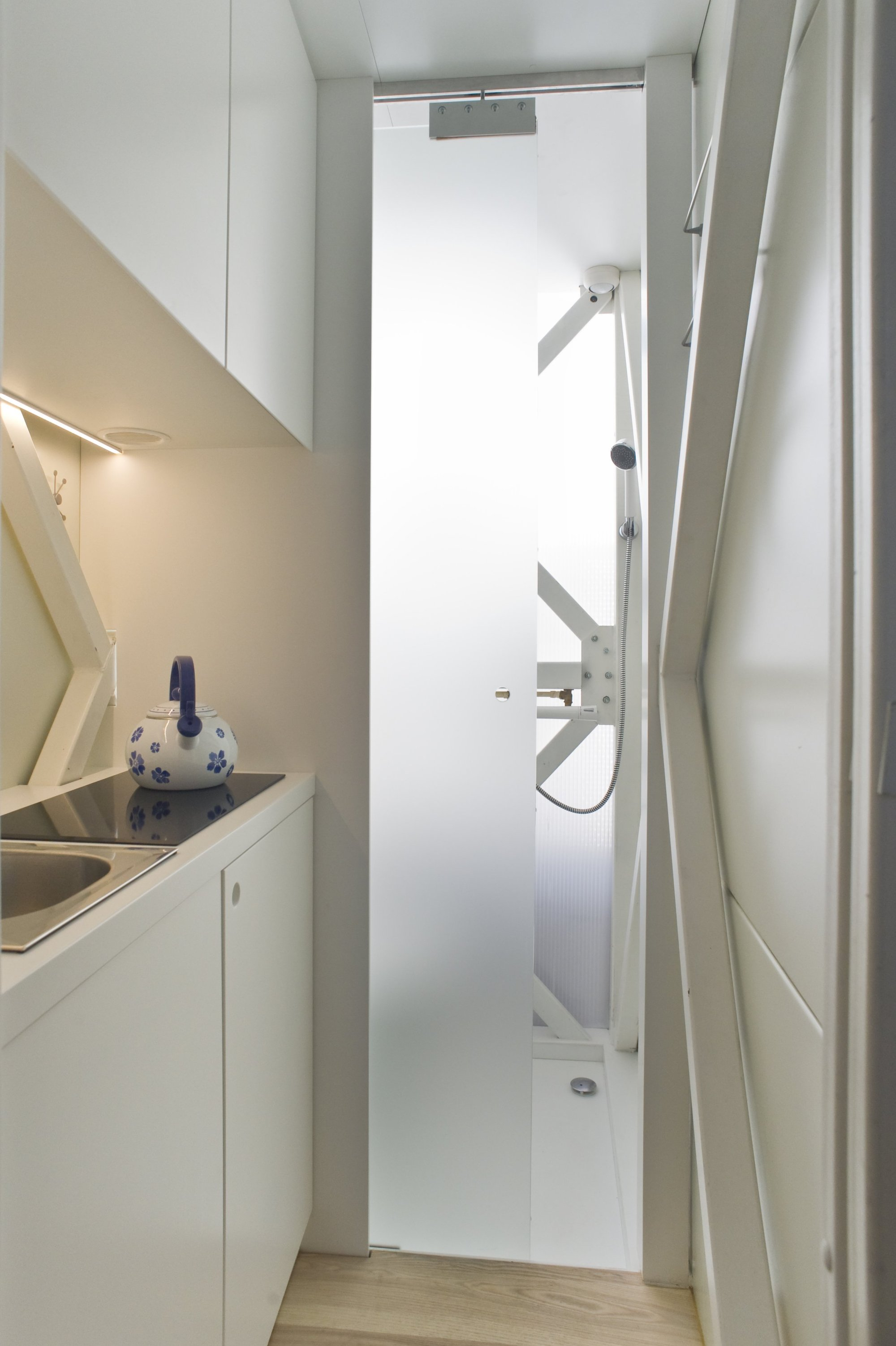 Inside The Keret House The Worlds Skinniest House By