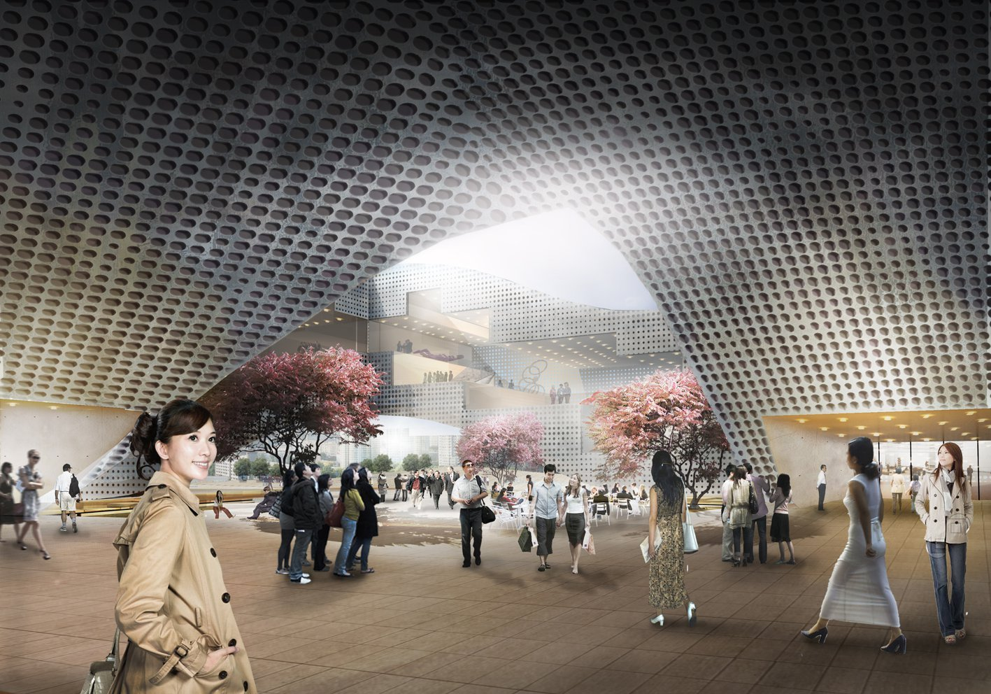 Gallery Of Dqz Cultural Center Proposal Holm