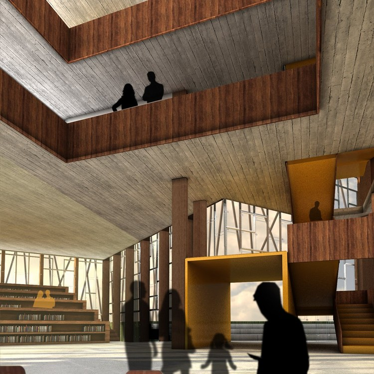Vigdis Languages Center Proposal Ooiio Architecture Archdaily