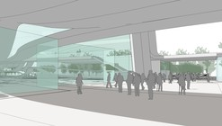 Valenciennes Technopole for Sustainable Mobility Competition Entry / Mikou Design Studio