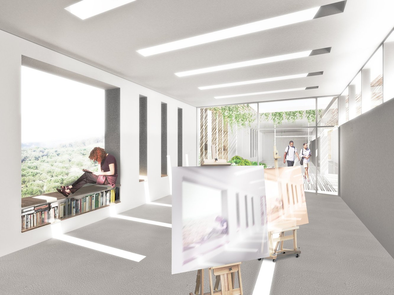 Gallery of Innovative Bioclimatic European School Third Prize ...