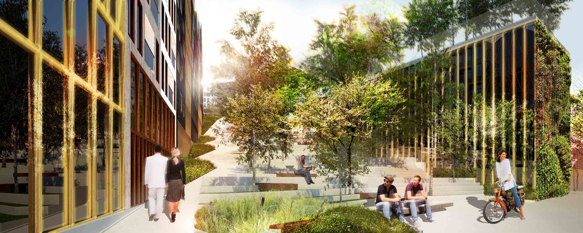 Gallery of Parkhill Competition Winning Proposal / Nice
