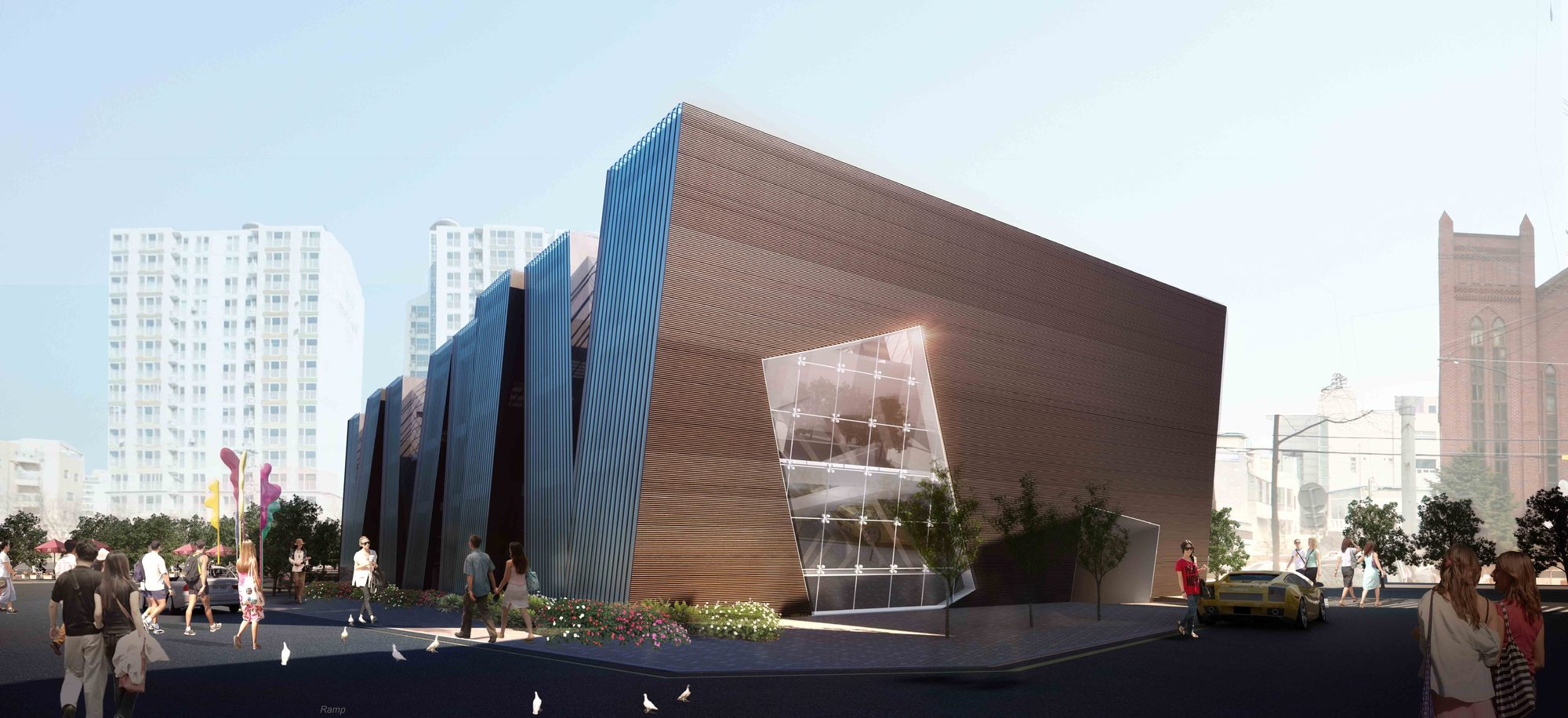 Gallery of daegu gosan public library competition entry for International architecture and design