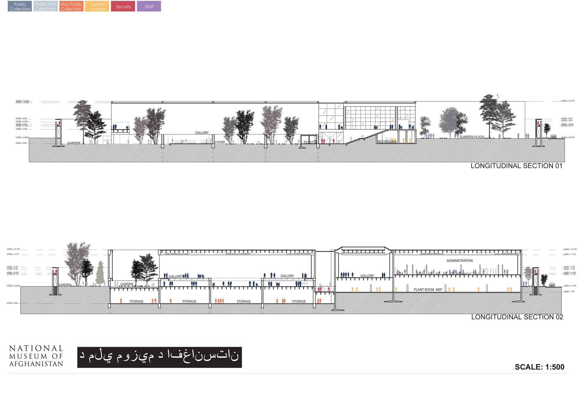 Gallery of national museum of afghanistan competition for Arquitectura nota de corte
