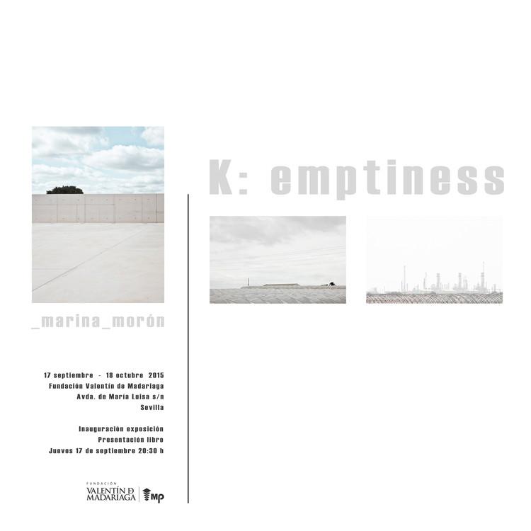 """Exposición """"K: emptiness"""" by _marina_morón / Sevilla, Los autores de la imagen y los propietarios de los derechos de autor son _marina_morón"""