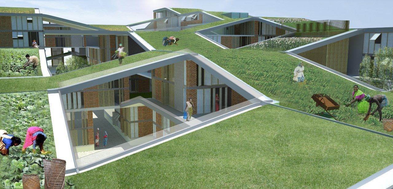 Architecture Ideas gallery of hof - horizontal farm international ideas competition