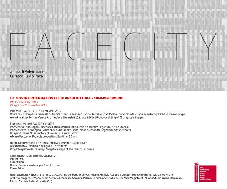Venice Biennale 2012: Facecity / C+S Architects, © Pino Musi