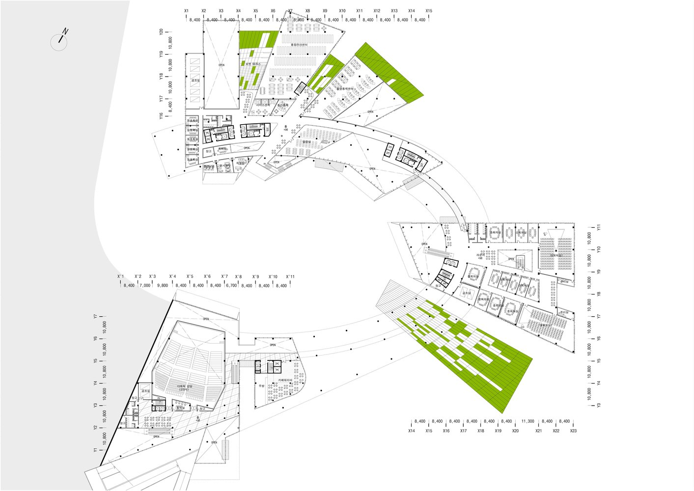Gallery Of New Korea Hydro Nuclear Power Headquarters H Plant Circuit Diagram Architectureplan 03