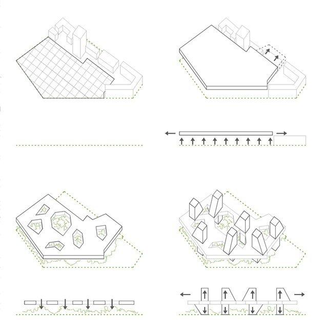 Gallery of Badel Block Complex Proposal / Luka Anic, Danko Balog ...