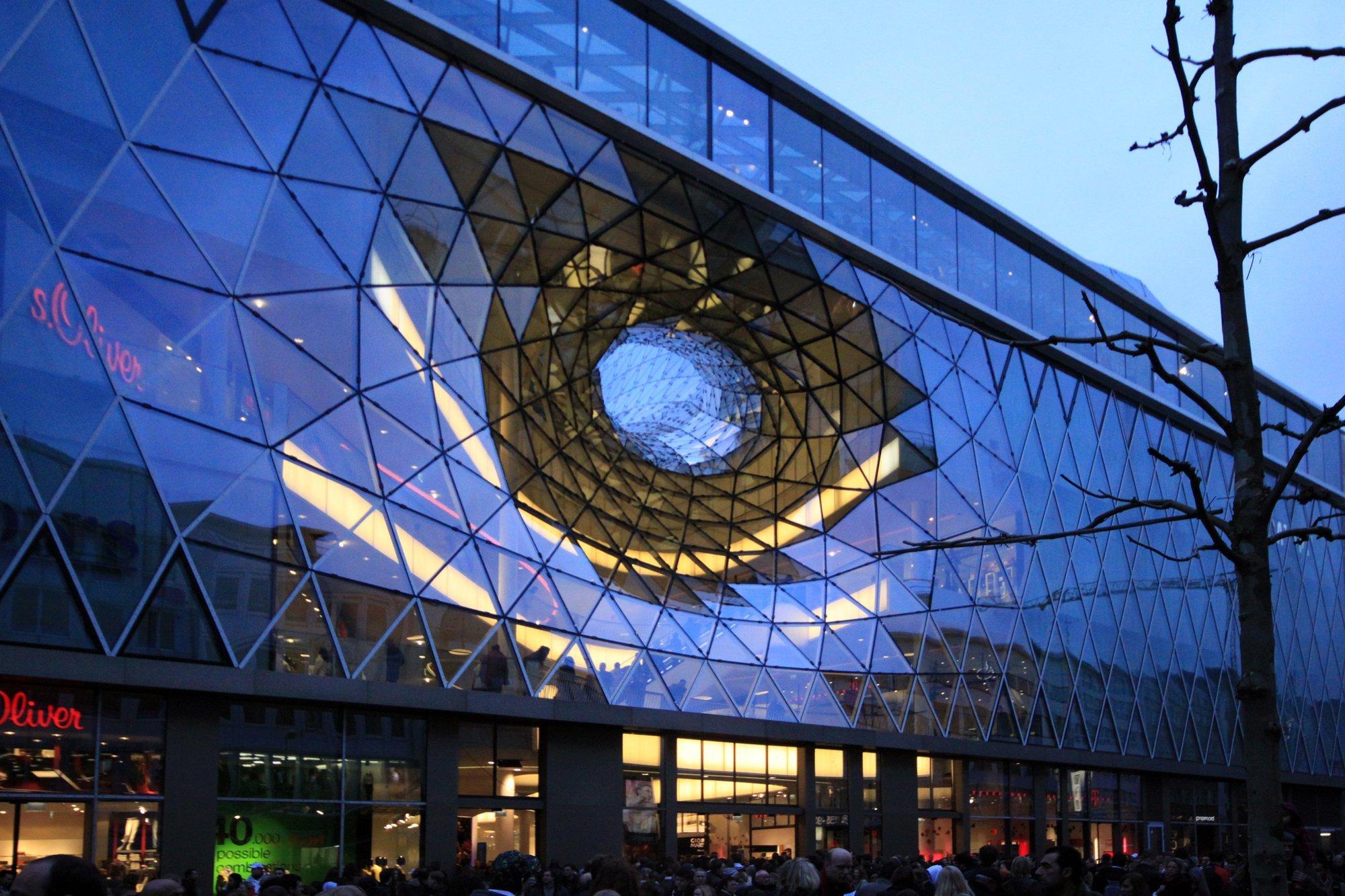 MyZeil Shopping Mall Studio Fuksas ArchDaily