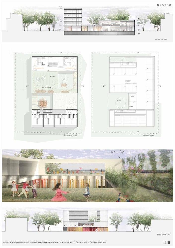 Architekt Sindelfingen gallery of kindergarten housing and community complex se