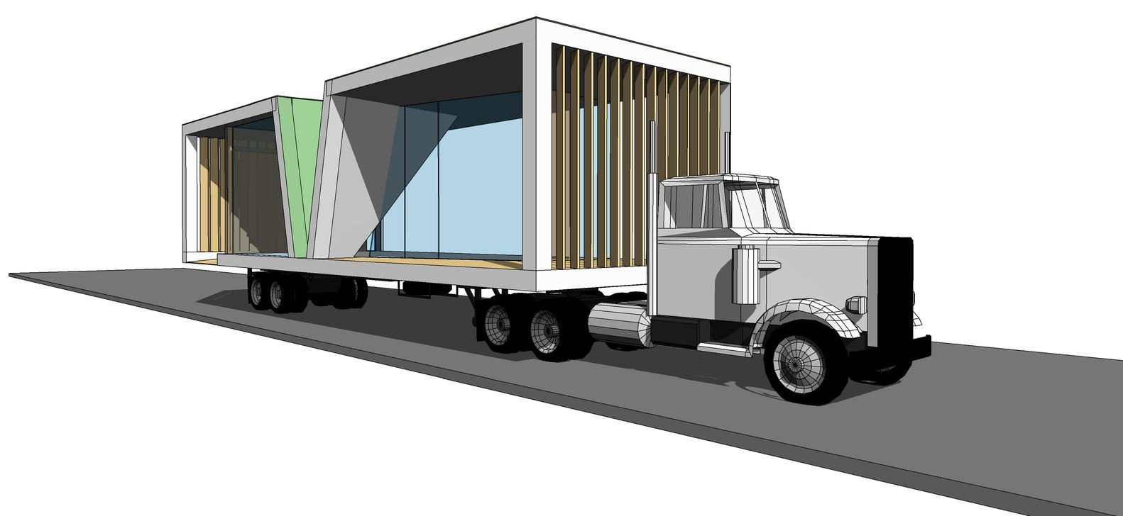 Future Proofing Schools Compeion Proposal Architectus Truck