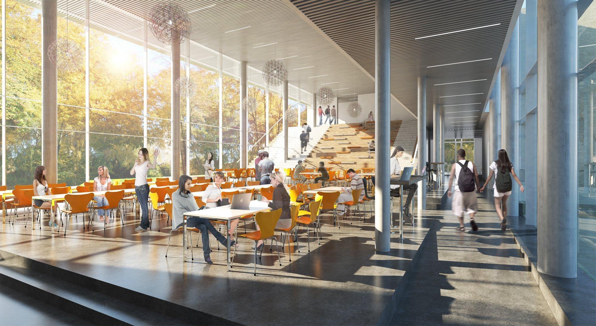 Gallery Of Marselisborg High School Gpp Architects 10