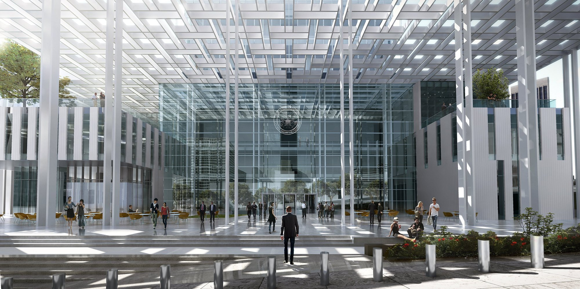 Gallery Of New United States Courthouse Competition Entry