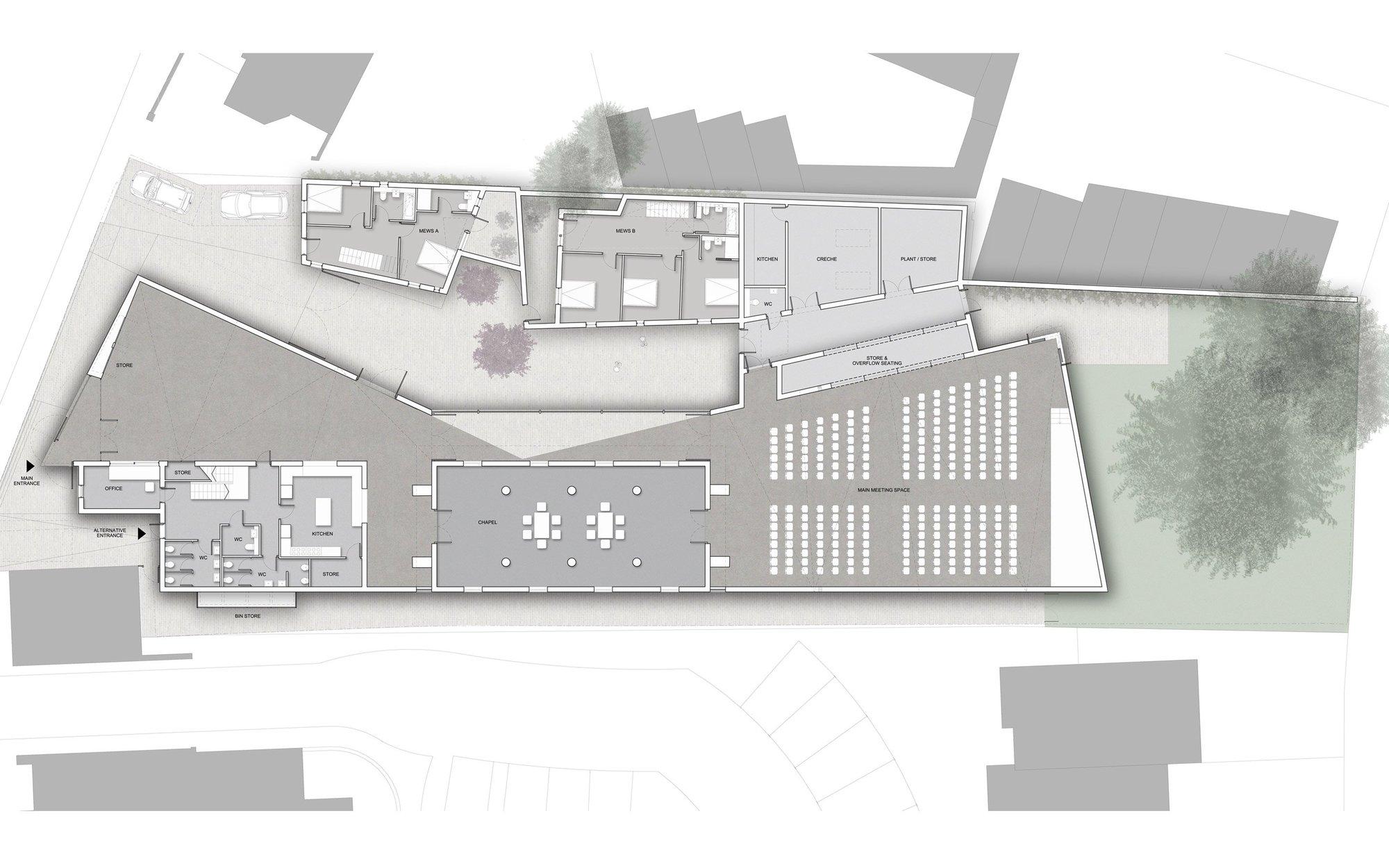 Gallery Of Drayton Green Church Proposal Piercy Company 6