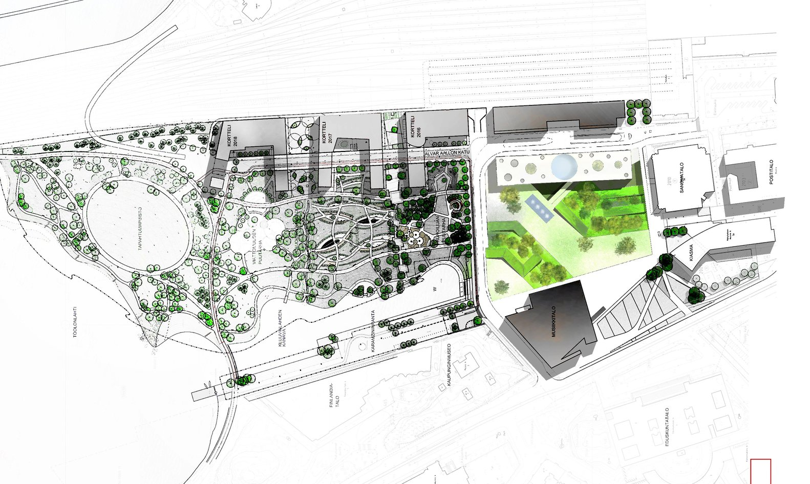 Gallery of Helsinki Central Library Competition Entry Tanni Lam – Create A Site Plan For Free