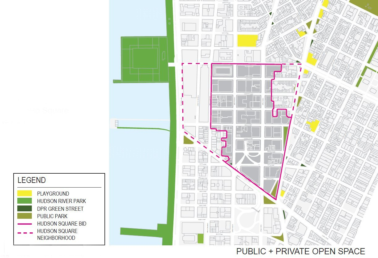 Gallery Of Masterplan For Hudson Square Streetscape
