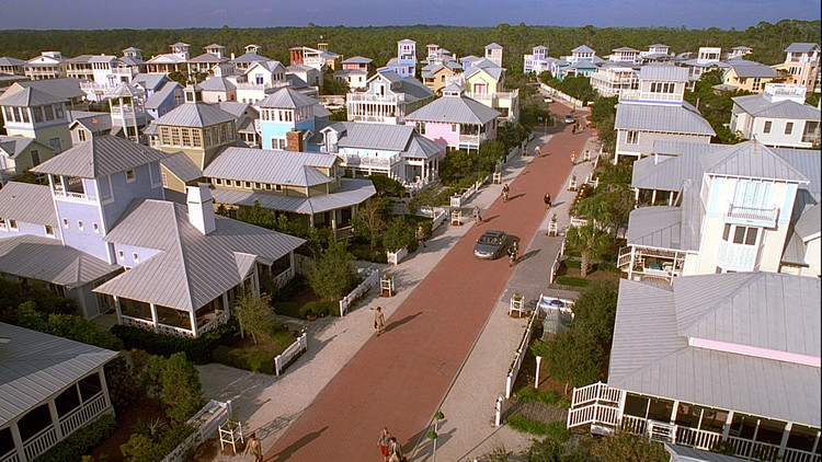 a rural utopia in the film the truman show directed by peter weir The truman show director peter weir t  a feature film, diving for pearls, directed by geoff burton and based on kather  it's a utopia that the producer has.
