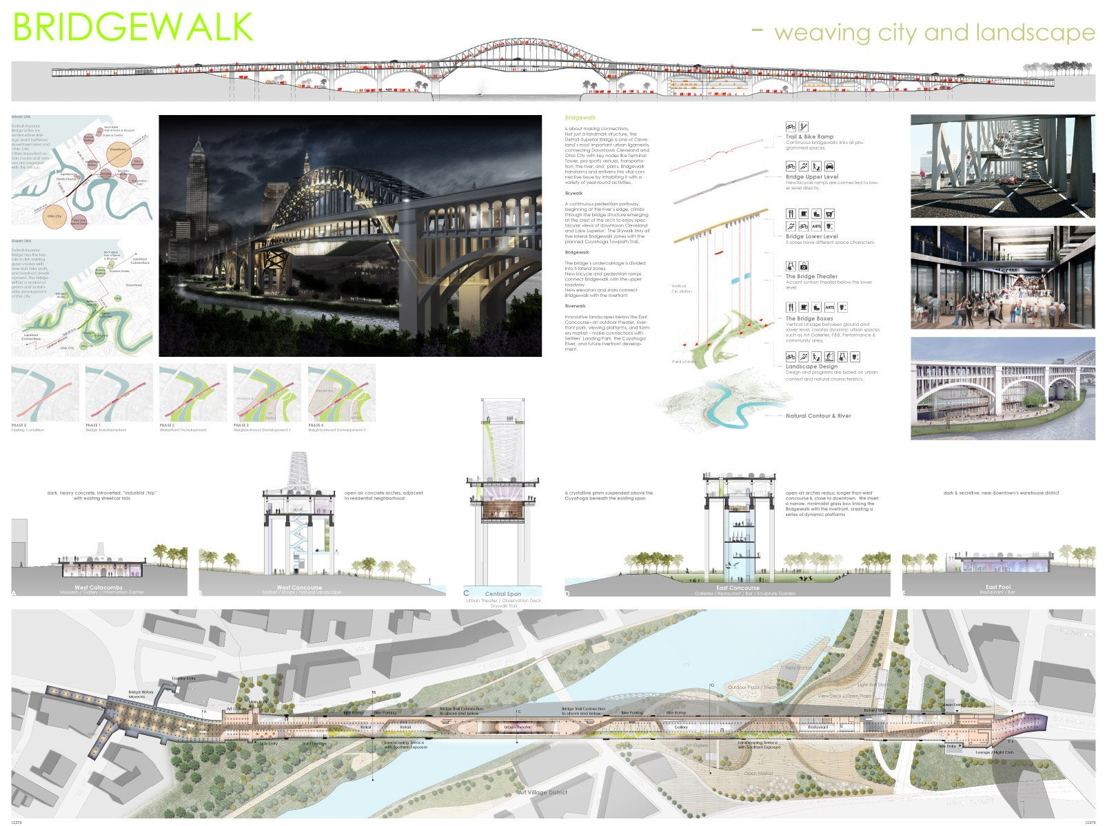 Gallery of transforming the bridge competition winners 7 for Architecture house design competitions