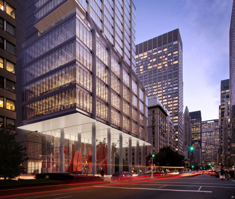 425 Park Avenue Foster Partners Archdaily