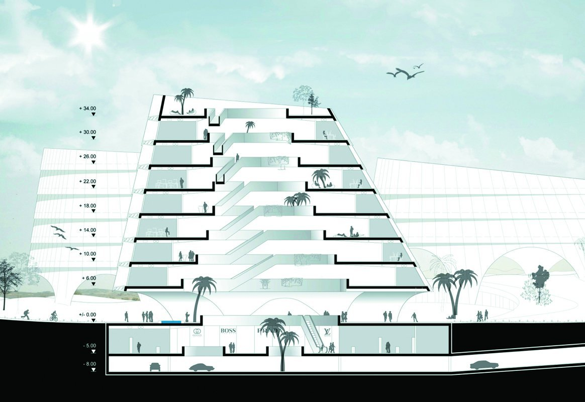 Visionary Concept for Science Campus / AllesWirdGut Architektur