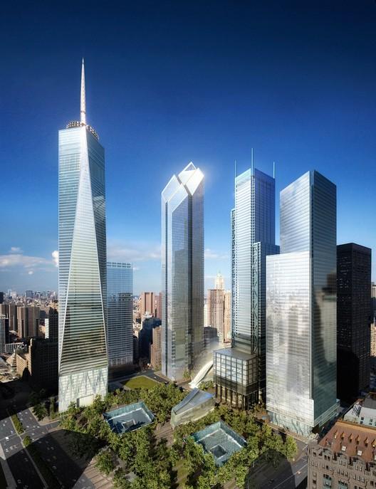 Ground Zero Master Plan Studio Daniel Libeskind Archdaily