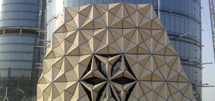 Al bahar towers responsive facade aedas archdaily for Arquitectura parametrica