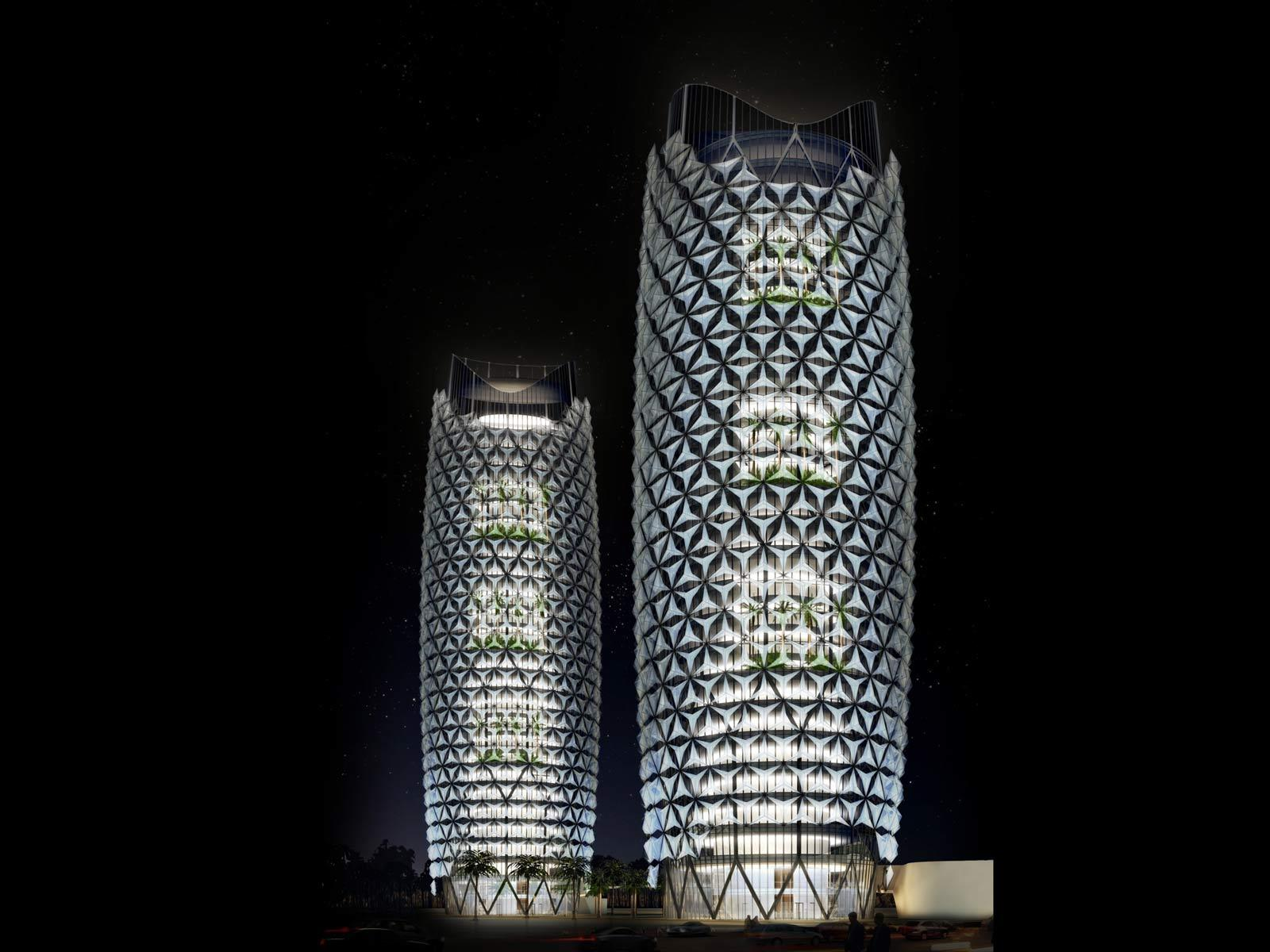 Gallery Of Al Bahar Towers Responsive Facade Aedas 1