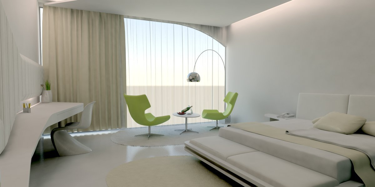 Arch For Hotel Room