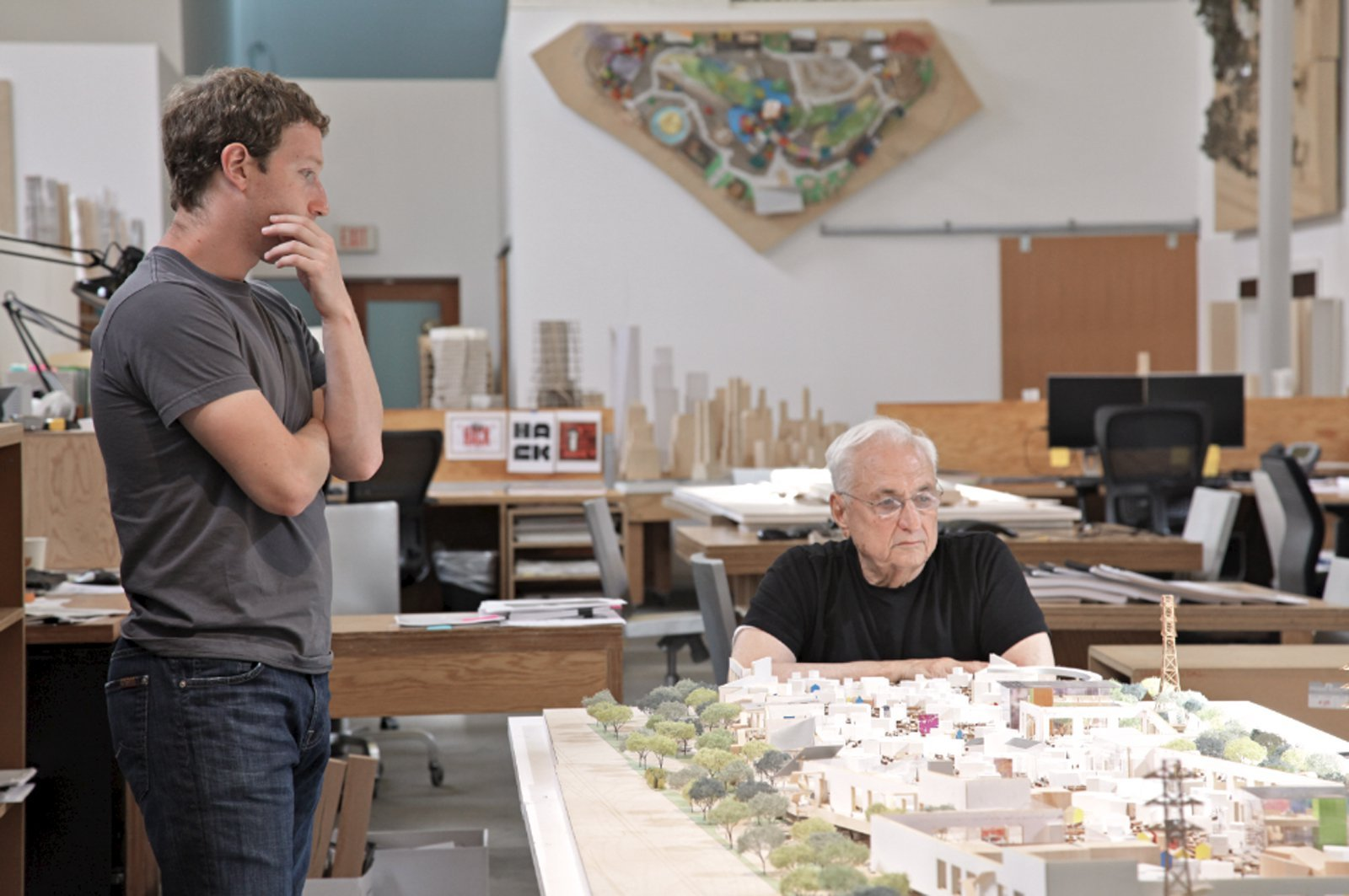 Facebook Frank Gehry ArchDaily Simple Frank Gehry Will Design Offices For Facebook In New York